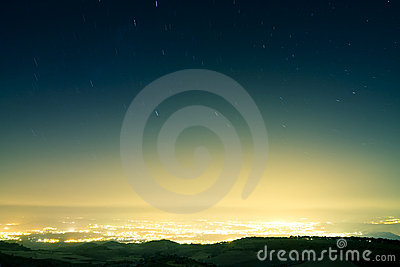 El llover de la estrella