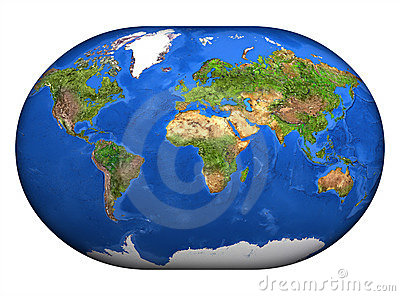 El Mapa Mundi 3D