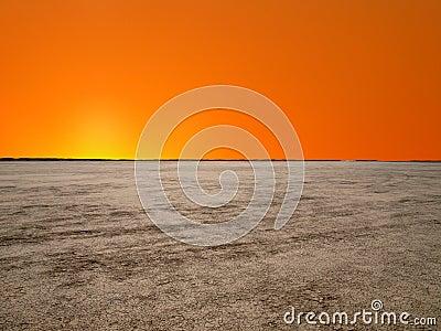 El Mirage Mojave Sunrise