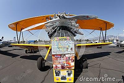 El Monte Airshow, CA, USA Editorial Stock Photo