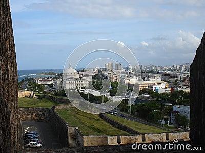 El Morro view, Puerto Rico, Caribbean