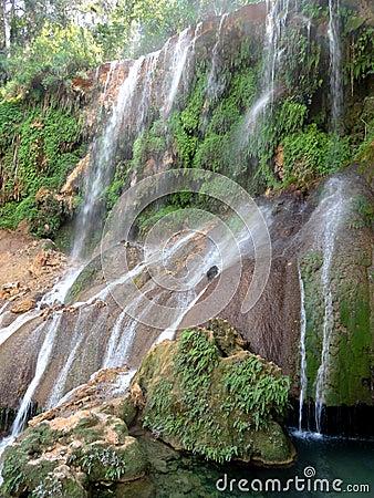 Free El Nicho Waterfalls Royalty Free Stock Photo - 51241295
