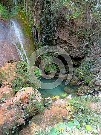Free El Nicho Waterfalls Royalty Free Stock Photography - 51243297