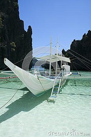 Free El Nido Banka Boat Palawan Philippines Royalty Free Stock Photography - 4400337