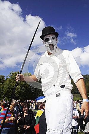 El orgullo alegre anual 2011 de Bristol Foto editorial