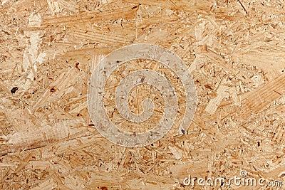 El panel de madera presionado