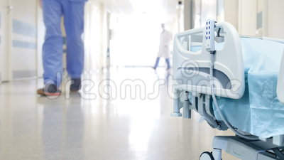 El pasillo del hospital almacen de video