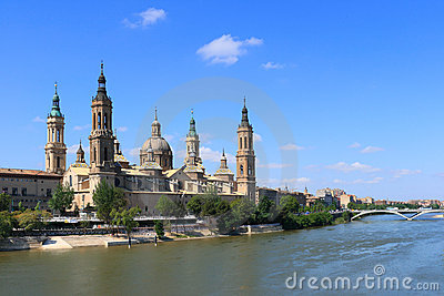 El Pilar Basilica (Zaragoza, Spain)