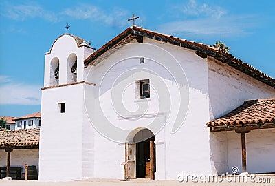 El Presidio Santa Barbara Ca Film Image Editorial Stock