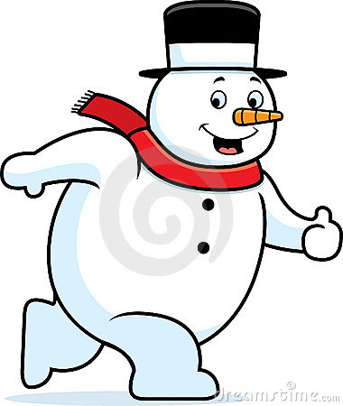 El recorrer del muñeco de nieve