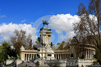 El Retiro, Madrid Editorial Stock Image