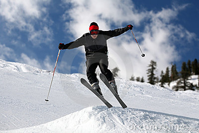 El salto del esquiador