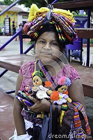 Free El Salvador Native Girl Stock Image - 36925731
