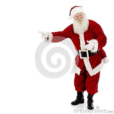 El señalar de Santa