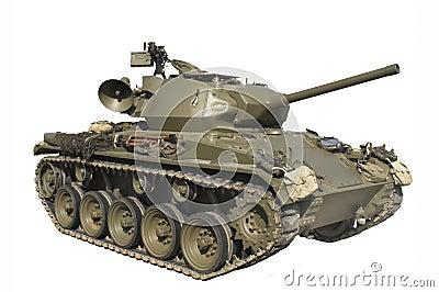 El tanque de ejército