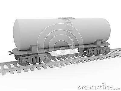 El tanque ferroviario