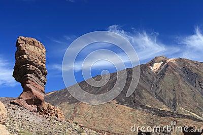 El Teide postcard