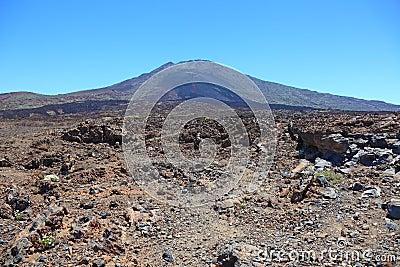 El Teide volcano.