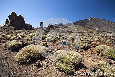 El Teide volcano landscape