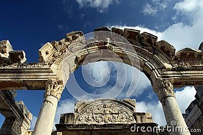El templo de Hadrian