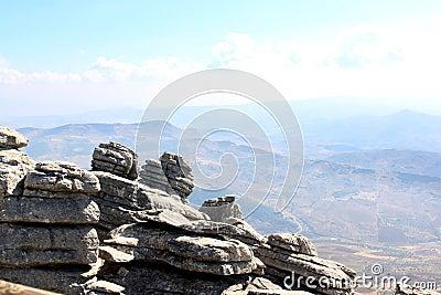 El Torcal Park Nature Reserve, Andalusia, Spain