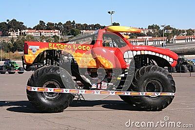 El Toro Loco Monster truck Editorial Photo