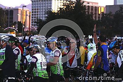 El Tour de Tucson 2008 Editorial Photography
