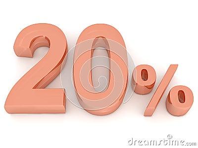 El veinte por ciento
