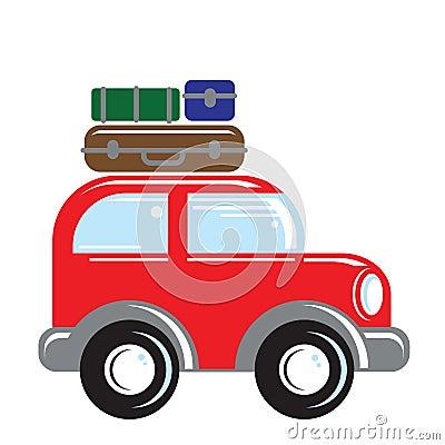 El viajar del coche