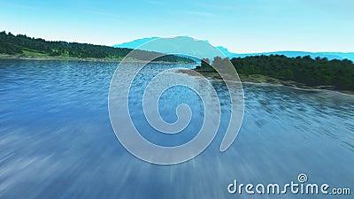 El volar sobre un río almacen de video