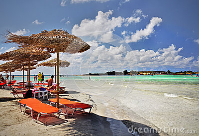 Elafonisi Beach Relaxation