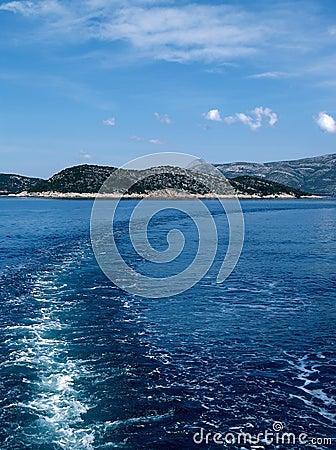 Elaphiti Islands scenic