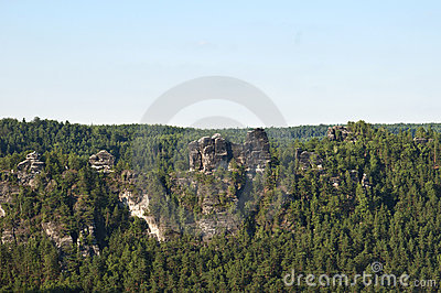 The Elbe Sandstone Mountains