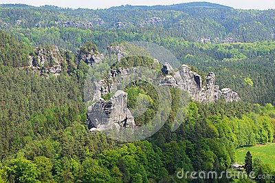 Elbe Sandstone MountainsUnique among the central European low mountain ...
