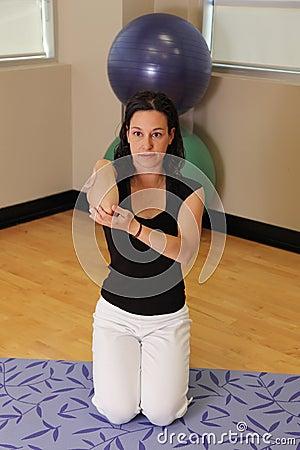Elbow bend stretch