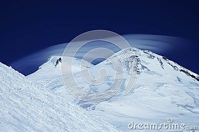 The Elbrus cap