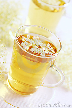 Elder flower tea