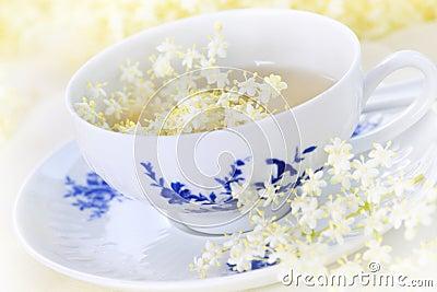 Elder flower tea