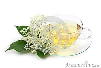 Elder tea