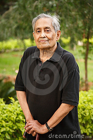 Free Elderly Asian Man Stock Photo - 16750770