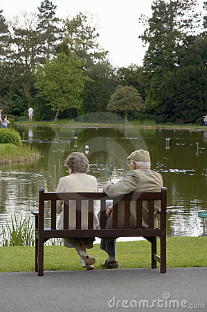 Free Elderly Couple Royalty Free Stock Photography - 547087