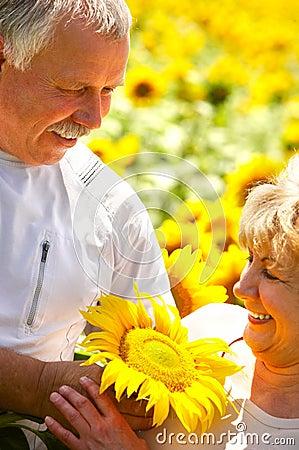 Free Elderly Couple Royalty Free Stock Images - 5962529