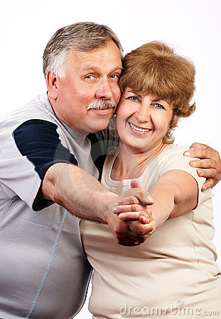 Free Elderly Couple Smiling. Royalty Free Stock Photo - 849815