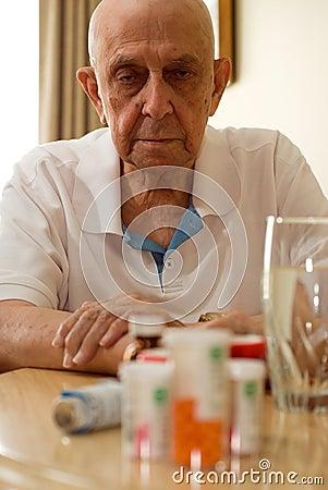 Free Elderly Drugs Royalty Free Stock Images - 5281099