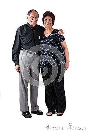 Free Elderly East Indian Couple Stock Photo - 6218440