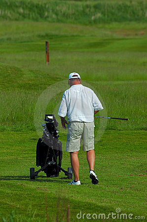 Free Elderly Golfer Royalty Free Stock Images - 2625469