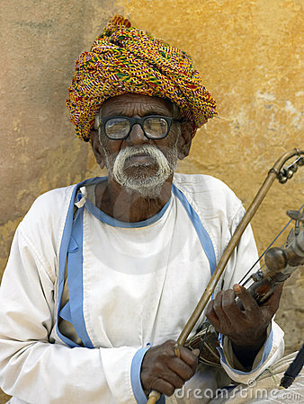Elderly Indian man - Jaipur - India Editorial Image