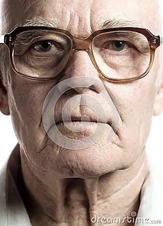 Free Elderly Man Stock Photography - 4904702