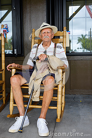 Chairs For The Elderly >> Elderly Man Stock Photo - Image: 55398926