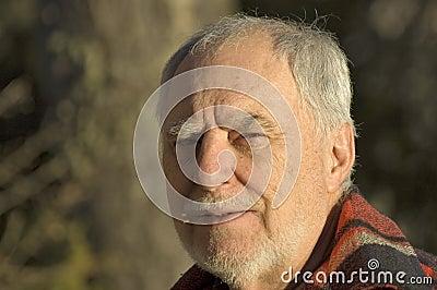 Elderly man portrait 1